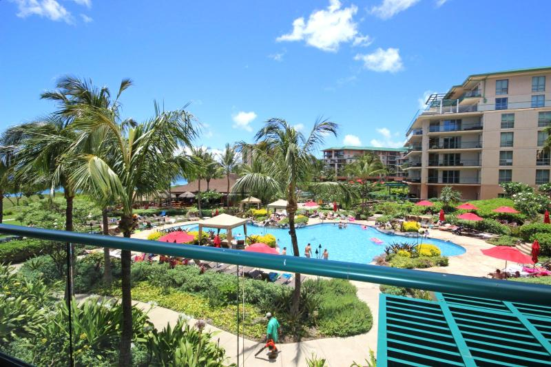 Views of resort and pool - Honua Kai #HKH-203 Kaanapali, Maui, Hawaii - Kaanapali - rentals