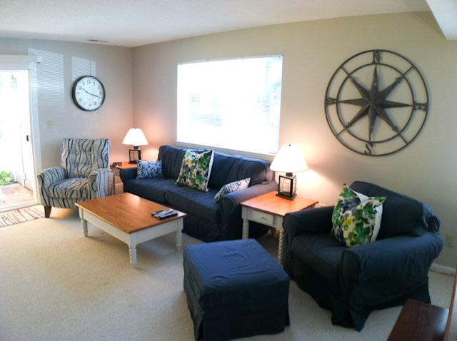 Living Area - Ocean Edge Patio Home with Central A/C & Pool Access - SU0544 - Brewster - rentals