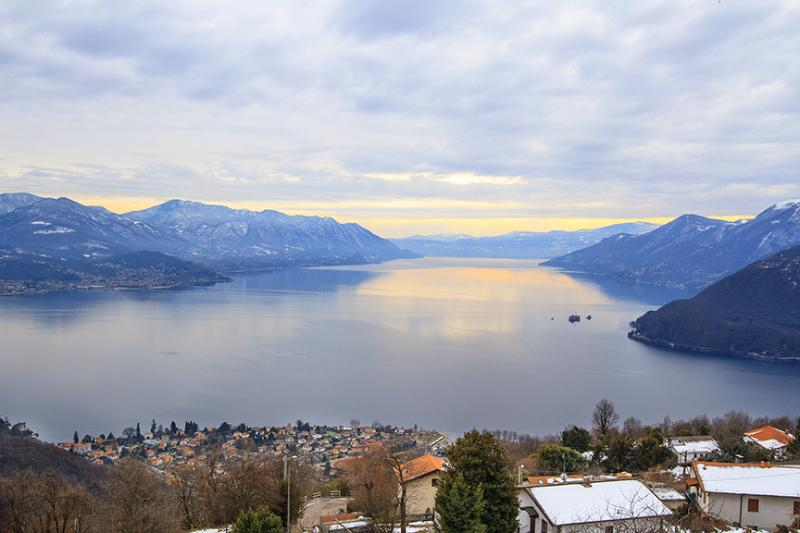 Lake view from property - Lake Maggiore 3 bedroom apartment (BFY13200) - Maccagno - rentals