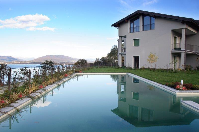 Communal pool - 2 bedroom apartment with pool near Stresa BFY13543 - Meina - rentals