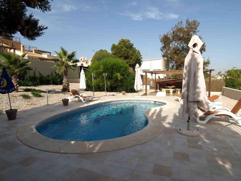 Rear Garden and private pool - Villa Aurora Stunning Views - El Carmoli - rentals