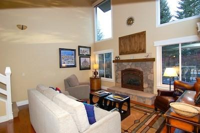 Living room  - Dollar Meadows Vacation Rental at Sun Valley Resort - Sun Valley - rentals