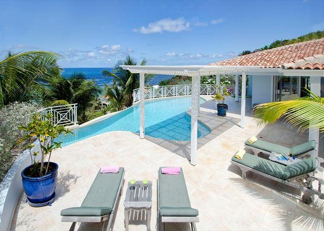 Villa prana, is a deluxe and spacious 4 bedroom villa located in Dawn Beach - Image 1 - Saint Martin-Sint Maarten - rentals