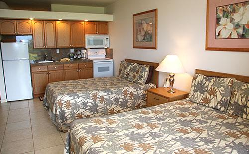 Living area from lanai - Kepuhi Beach 1233 - Maunaloa - rentals