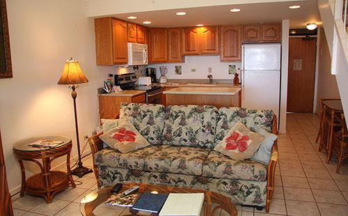Living area from lanai - Kepuhi Beach Resort 2222 - Maunaloa - rentals