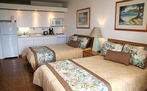 Living area from lanai - Kepuhi Beach 1235 - Maunaloa - rentals