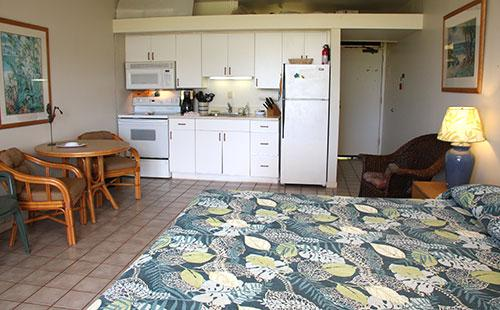 Living area from lanai - Kepuhi Beach 1234 - Kaluakoi Point - rentals