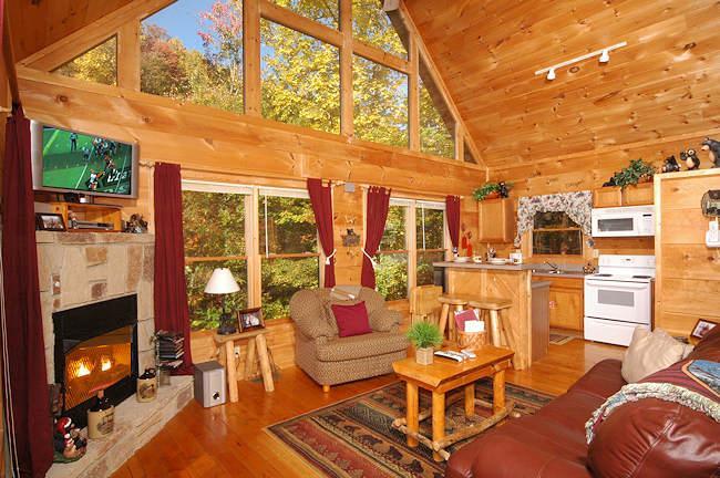 I Do Living Room - I Do Cabin - Sevierville - rentals
