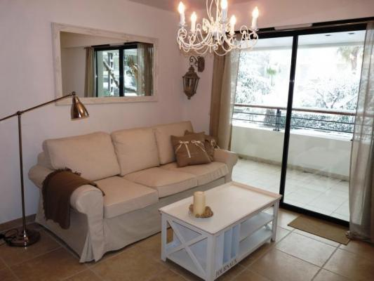 2 Bedroom Madrid White Cannes Flat with a Terrace - Image 1 - Cannes - rentals