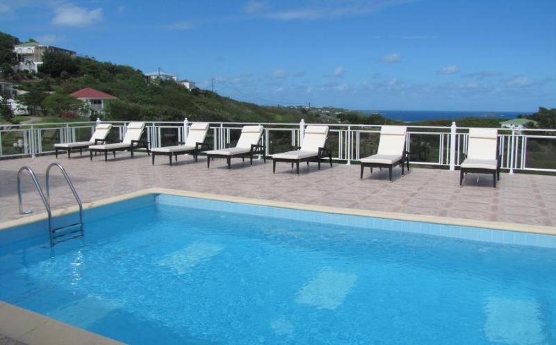 Panorama - Ideal for Couples and Families, Beautiful Pool and Beach - Image 1 - Petit Cul de Sac - rentals