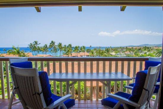 lanai  - Free Car* with Nihi Kai 826 - Ocean views, 2b/2bth, Newly remodeled-walking distance to restaurants and Poipu Beach - Poipu - rentals