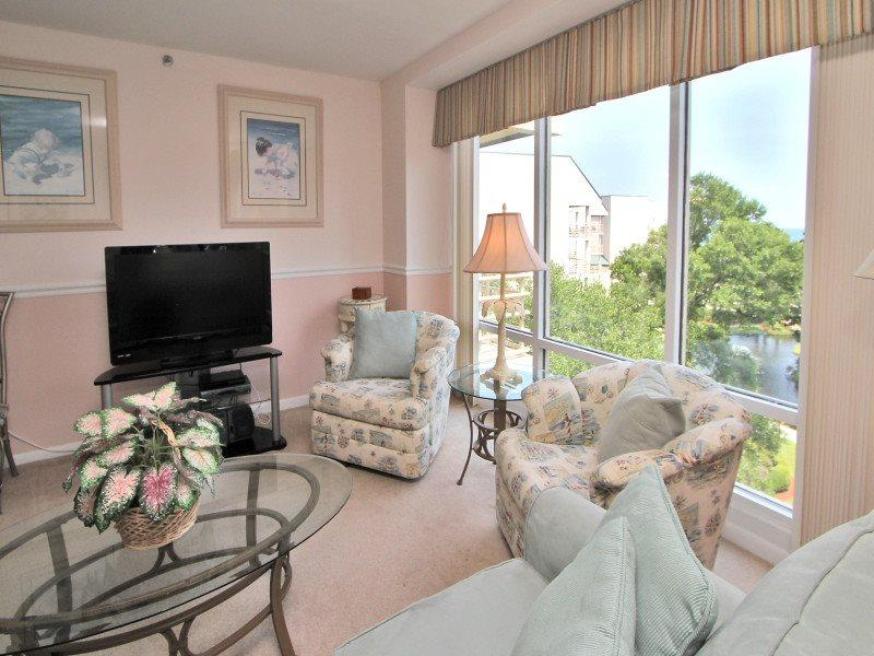 Living Room at 2512 Villamare - 2512 Villamare - Palmetto Dunes - rentals