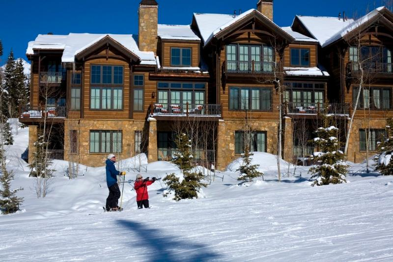 Ski in and out at your leisure, as the Castellina complex is right on the slopes. - Take a deep breath - Ski in/out, private hot tub, short walk to Mountain Village core - Castellina Pines - Telluride - rentals
