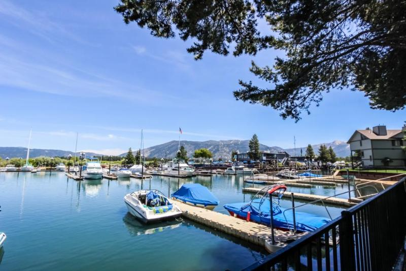 Cozy, w/ lake views, private pier, dock & boat slip + shared pools & hot tub! - Image 1 - South Lake Tahoe - rentals