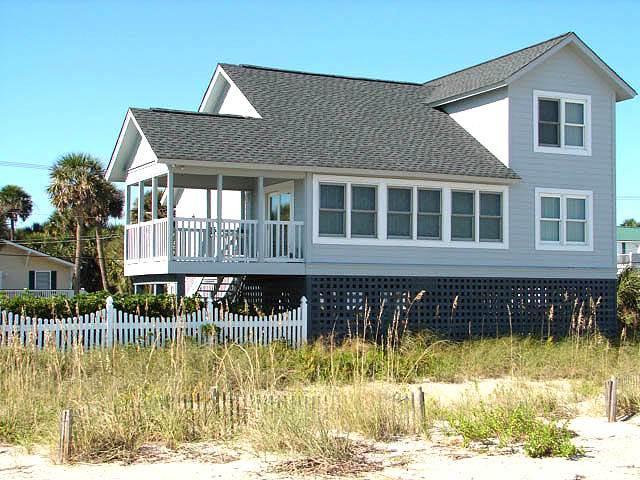 """604 Palmetto Blvd. - """"Blue Heaven"""" - Image 1 - Edisto Beach - rentals"""