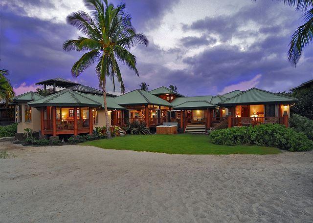 Beach Front 4 bedroom in Puako, Big Island of Hawaii - Image 1 - Kamuela - rentals