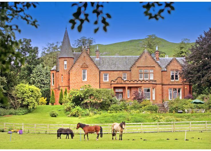 britain-ireland/scotland/turret-mansion-house - Image 1 - Skirling - rentals