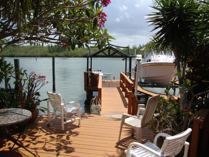 Property has private dock on Intracoastal - INTRACOASTAL GETAWAY HOME - Indian Shores - rentals