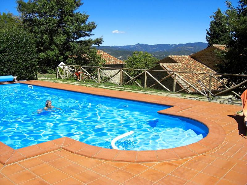 Swimming pool - Tuscany 5 bedroom farmhouse with pool - BFY1315 - Caprese Michelangelo - rentals