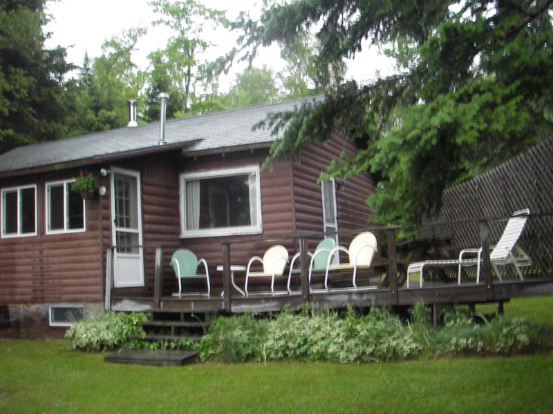 Lake side of cottage - Lakefront Cottage Rangeley Maine - Rangeley - rentals