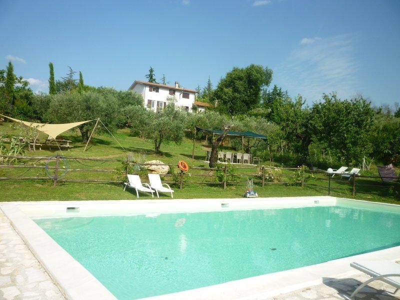 villa with smimmingpool beatifull view  wi-fi - Image 1 - Magliano Sabina - rentals
