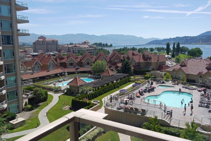 Gorgeous pool and lakeview suite on the 7th floor - Image 1 - Kelowna - rentals