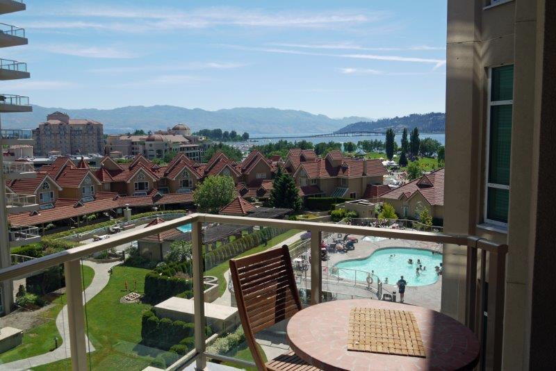 Million dollar view! 7th floor suite - Gorgeous pool and lakeview suite on the 7th floor - Kelowna - rentals