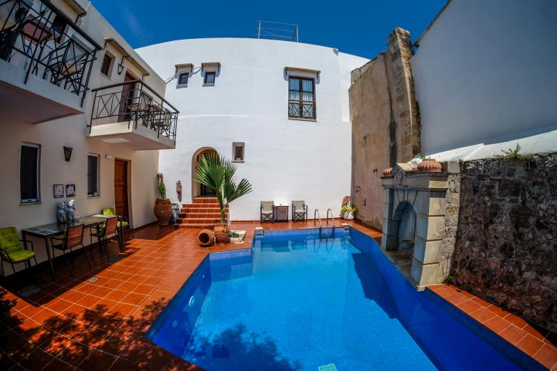 "external pool - Charming Holiday Studio ""Vera""  (12) Crete - Rethymnon - rentals"