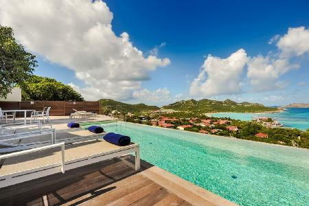 Beautiful Villa Romana, with staff and just minutes walk to the beach - Image 1 - Saint Jean - rentals