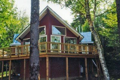 Front Exterior - 154 Moosehead Lake Sporting Camp - Rockwood - rentals