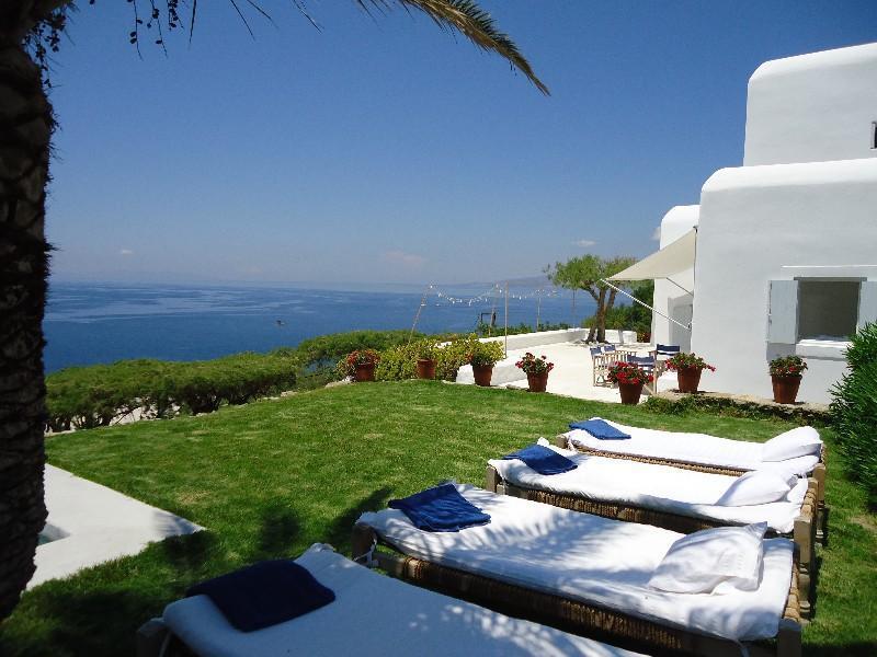 Garden - Blue Villas | Ostria | Close to Mykonos Town - Mykonos Town - rentals