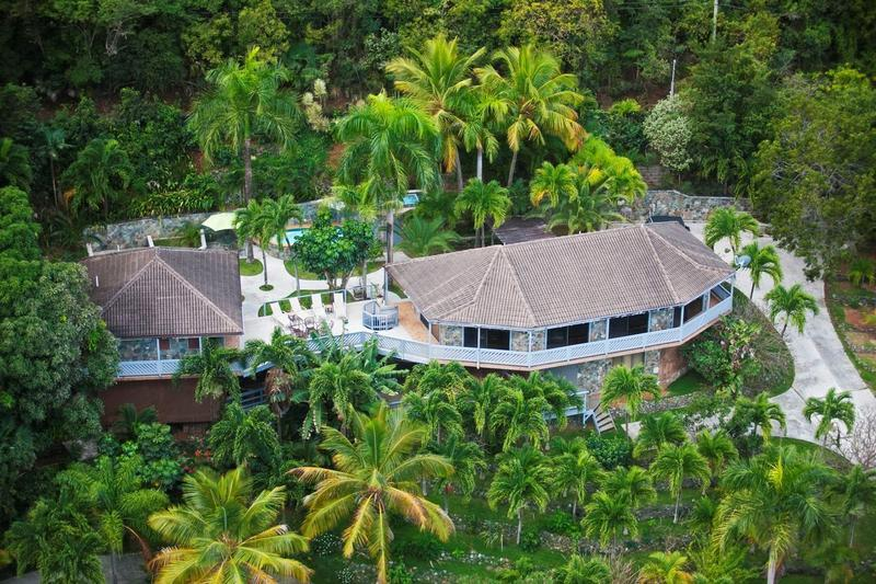 Rockworks at Dorothea, St. Thomas - Ocean View, Pool, Lush Garden - Image 1 - British Virgin Islands - rentals