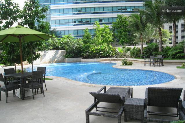 Ground Level Kiddie Pool - ONE ROCKWELL EAST TOWER, Makati, Philippines - Makati - rentals