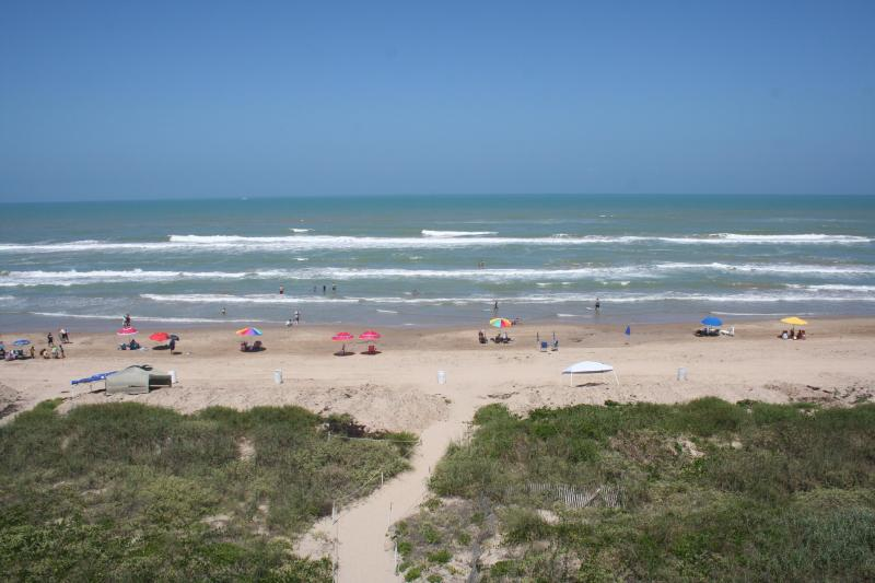 BEACHFRONT! Fantastic ocean views, KING bed, UPDAT - Image 1 - South Padre Island - rentals