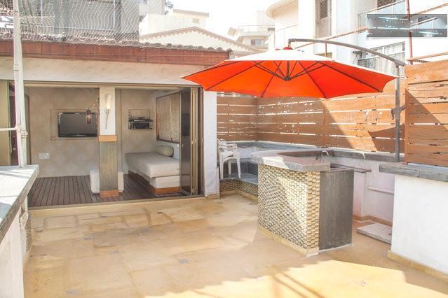 2 Bedroom, 2 Bathroom, Kitchen, Livingroom, Lounge & Terrace - 2 BHK Penthouse Apt - Carter Road, Bandra, Mumbai. - Mumbai (Bombay) - rentals