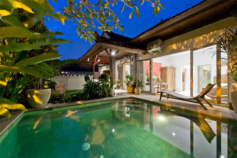 Villa and Pool view - Orchid, 3 Bedroom Villa, Near Beach, Central Sanur - Sanur - rentals