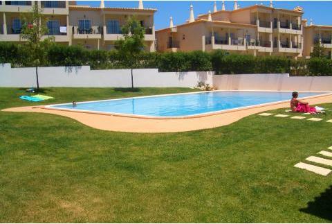 Pool Area - Compas Orange Apartment, Olhos de Agua, Albufeira - Olhos de Agua - rentals