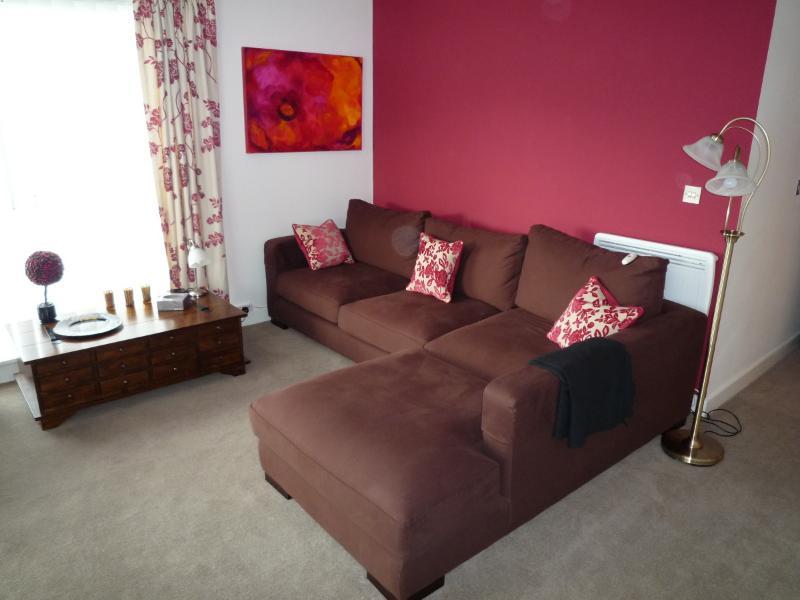 Large and comfortable corner sofa - Bristol city apartment - Bristol - rentals