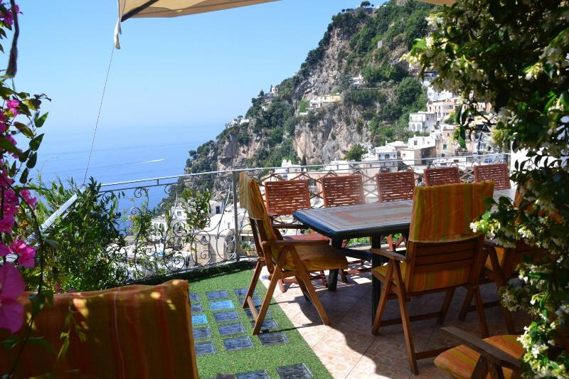 Patio terrace II° floor - Positano center Sostella is an enchanting property - Positano - rentals