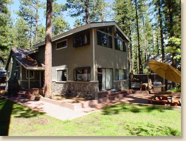 Lake Tahoe Family Getaway Near Sandy Beach,Skiing - Image 1 - Tahoe Vista - rentals