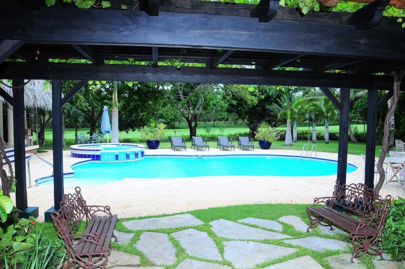 Pool View 1 - Vista Mar Villa I, Casa de Campo, La Romana, D.R - La Romana - rentals