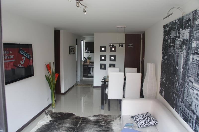 Livin room - Nice Apartment in Bogota - Bogota - rentals