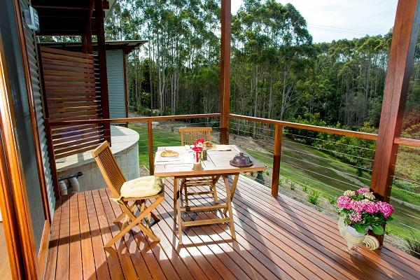 Lilypad Deck - Lilypad Luxury Cabins Bellingen Ideal for Couples - Bellingen - rentals