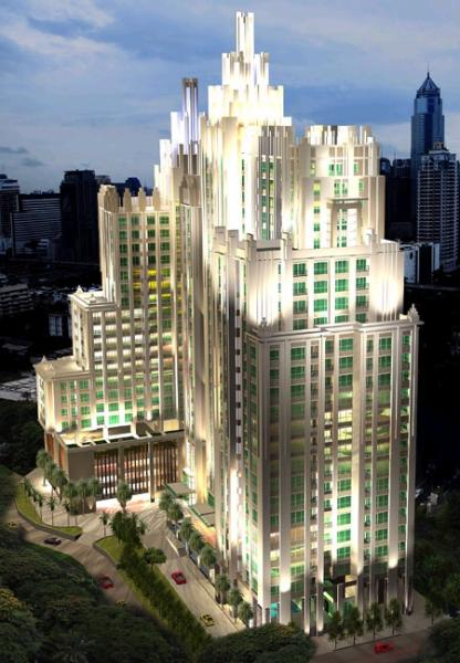 Luxury Art Deco Condo at Central Bangkok - Image 1 - Bangkok - rentals
