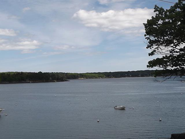 The Nest is not on the water, but the water views are pretty wonderful. - THE NEST| EAST BOOTHBAY | GREAT LOCATION | EASY WALK TO RESTAURANTS AND MORE | GREAT VIEWS | SCREENED PORCH - Boothbay - rentals