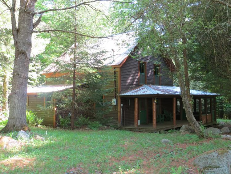 Approach to Annex - Go Rustic! The Annex at Catamount Loj - Pottersville - rentals