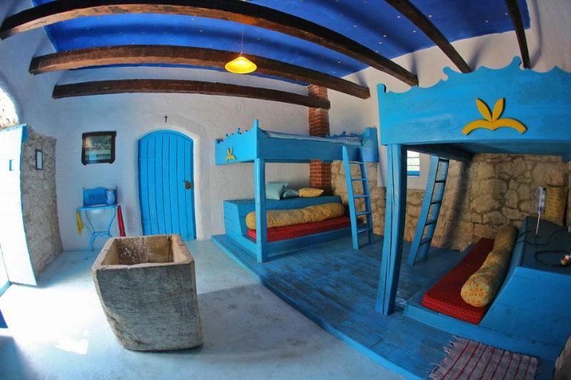 down floor bedroom - Rustic Dalmatian house - Petrcane - rentals