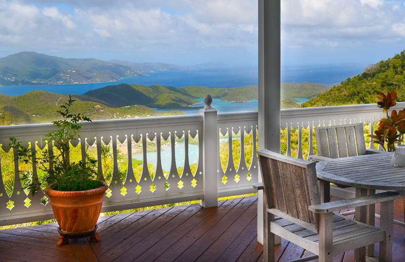 Esprit: Amazing Views of the BVI! Year-Round Breezes! - Image 1 - Saint John - rentals