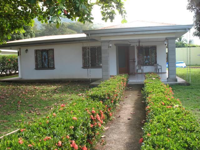 Front view - Comfortable Home in Punta Leona neighborhood - Ciudad Colon - rentals