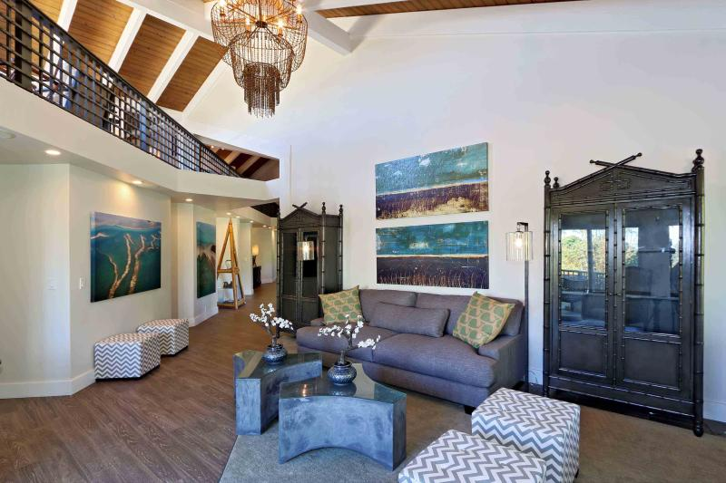 Lele Penthouse, 6Br 7B, Living Area #1 - Private Penthouse Steps Away from the Beach - Kihei - rentals
